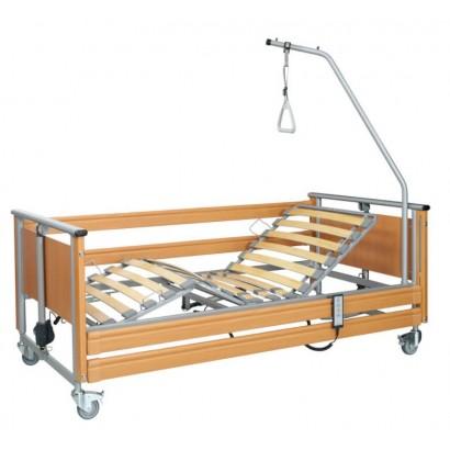 Funkcionālā aprūpes gulta ar piecelšanās stieni
