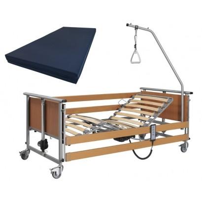 Функциональная кровать с матрасом и водонепроницаемым чехлом